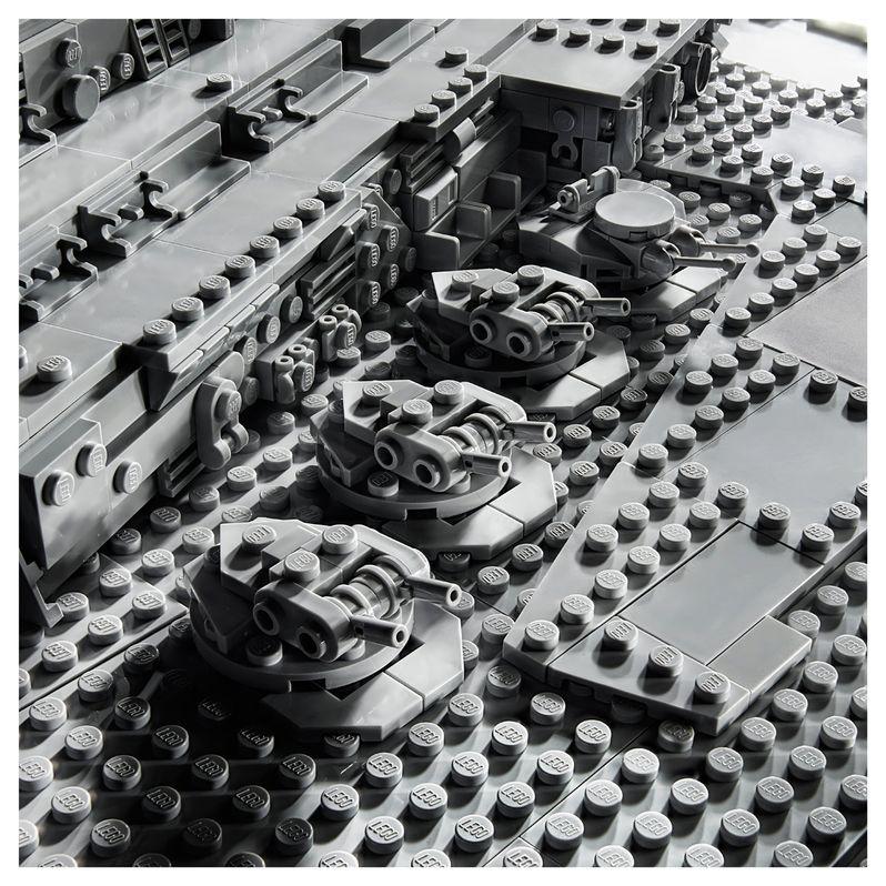 Star Wars Star Destroyer Lego Set Image #7