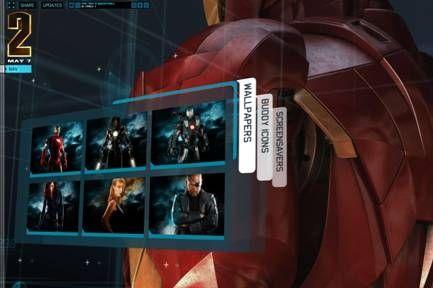 Iron Man 2 Website #1