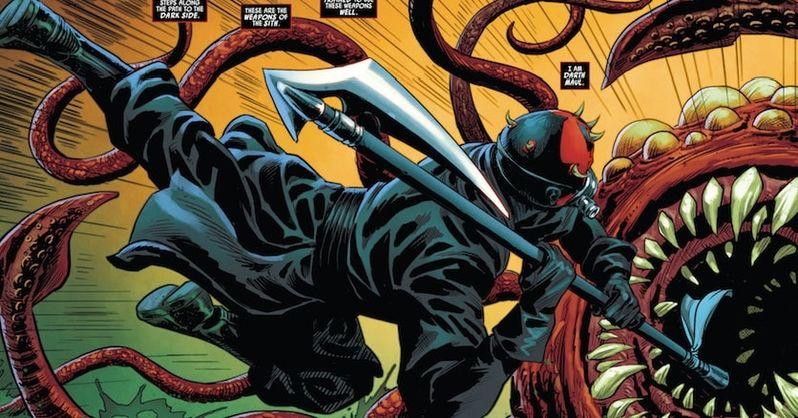 Darth Maul Comic Book Rathtars 2