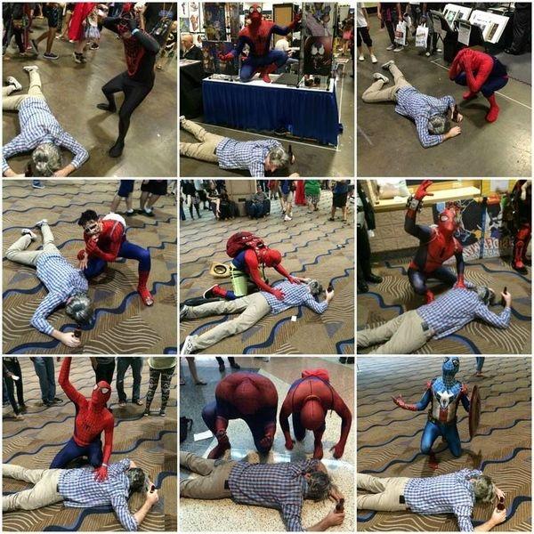 Spider-Man Drunk Uncle Ben