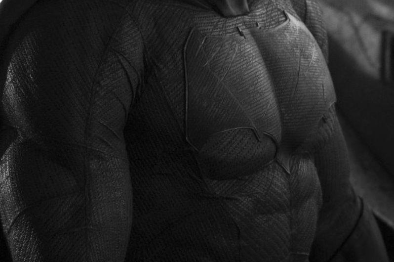 Batman in Batman Vs. Superman Photo Close-Up 2