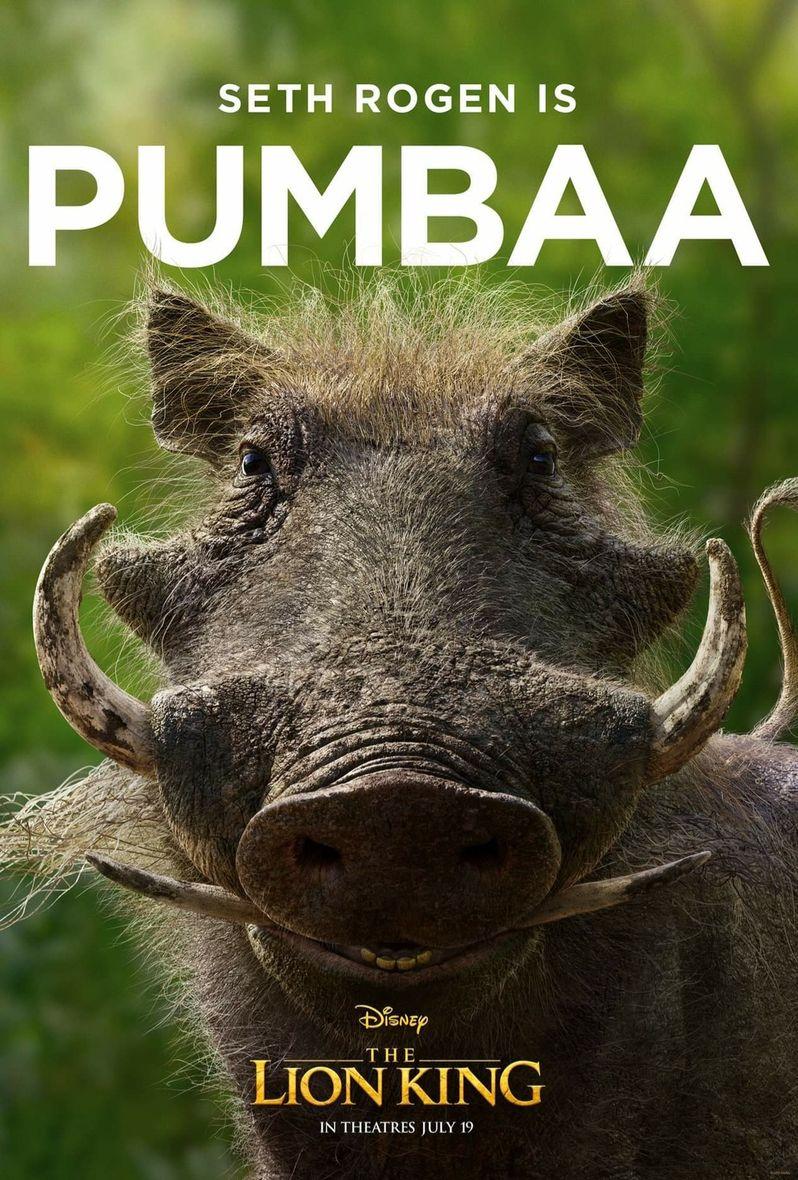 <strong><em>The Lion King</em></strong> Poster Pumbaa