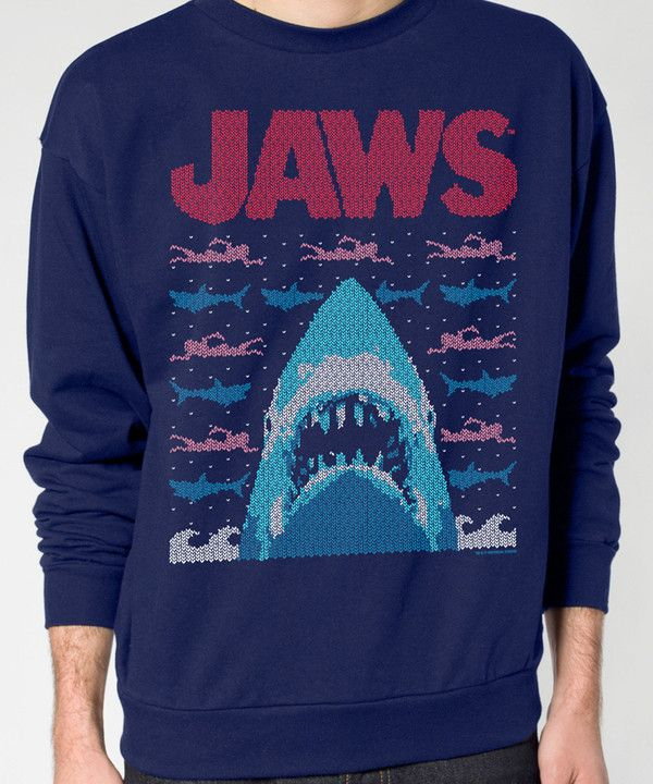 Jaws Christmas Sweater