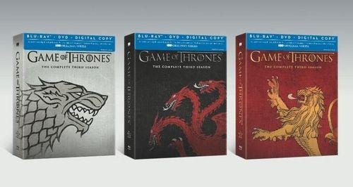 Game Of Thrones The Complete Third Season Blu-ray Best Buy Artwork