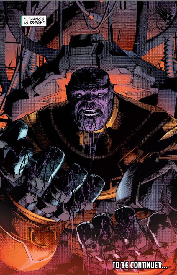 Thanos Comic Book