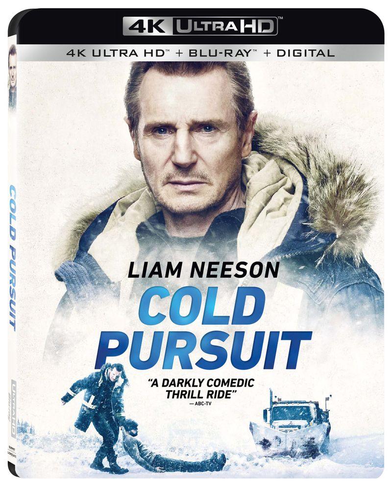 <strong><em>Cold Pursuit</em></strong> Blu-ray 4K Liam Neeson