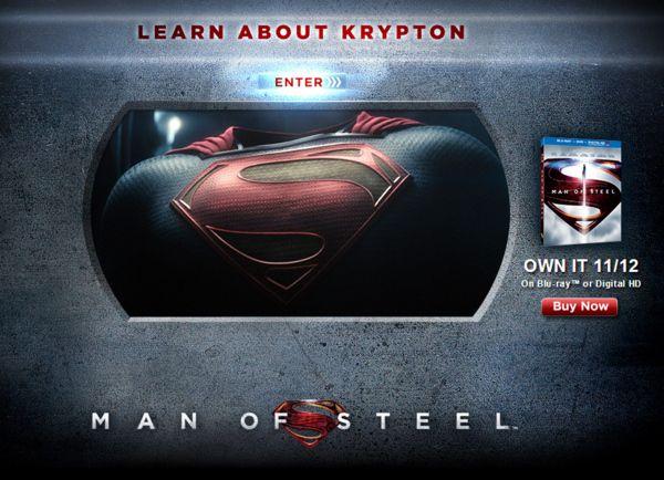 <strong><em>Man of Steel</em></strong> Krypton Viral Website Photo 1