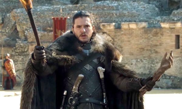Jon Snow Claims Iron Throne