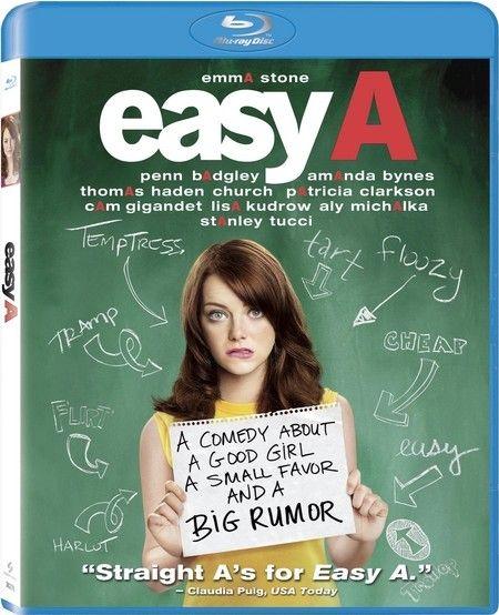 <strong><em>Easy A</em></strong> Blu-ray artwork