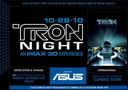 Tron Night 2010 Image