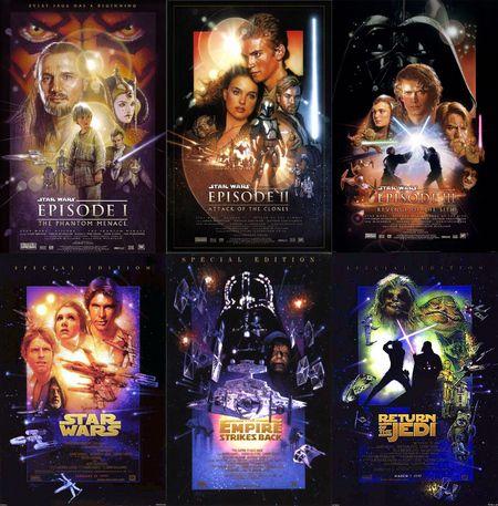 Star Wars Drew Struzan Poster collection