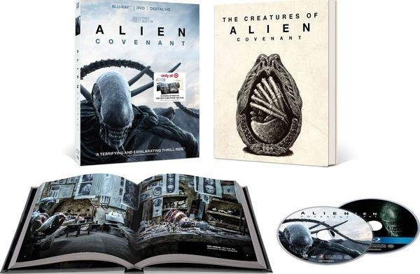 <strong><em>Alien: Covenant</em></strong> Target Blu-ray
