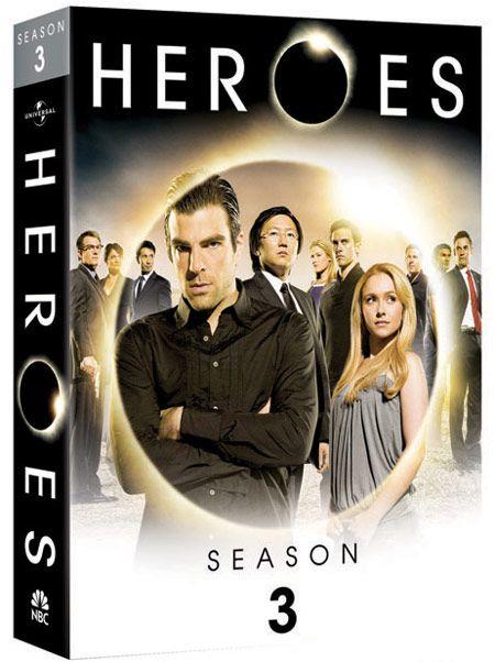 Heroes: Season 3 DVD