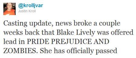 Blake Lively tweet