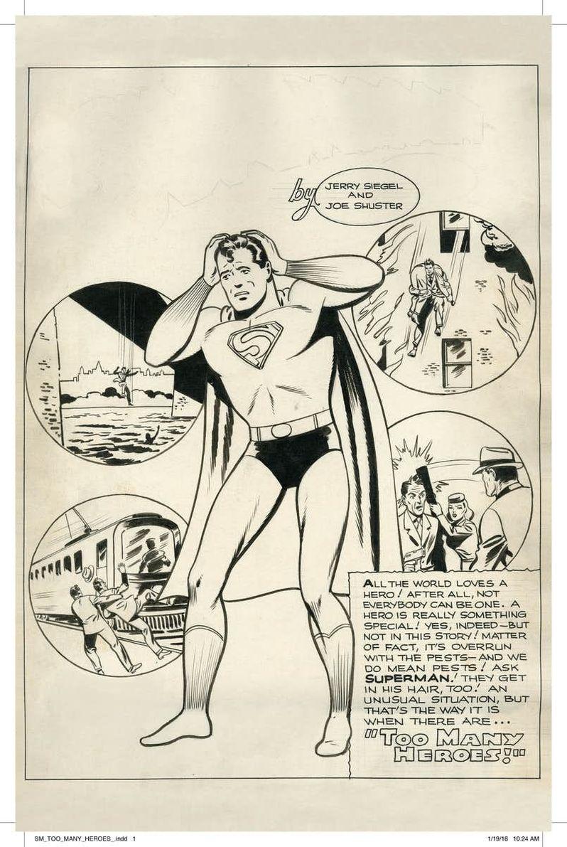 Superman Lost Comic cover art