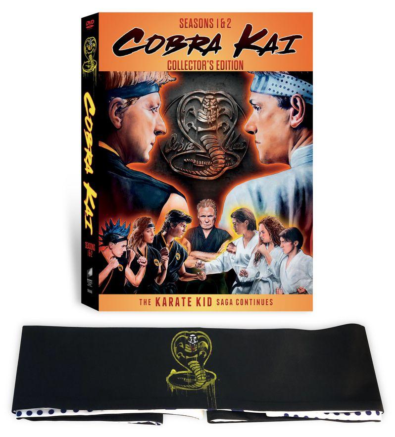 <strong><em>Cobra Kai</em></strong> DVD Season 1, Season 2