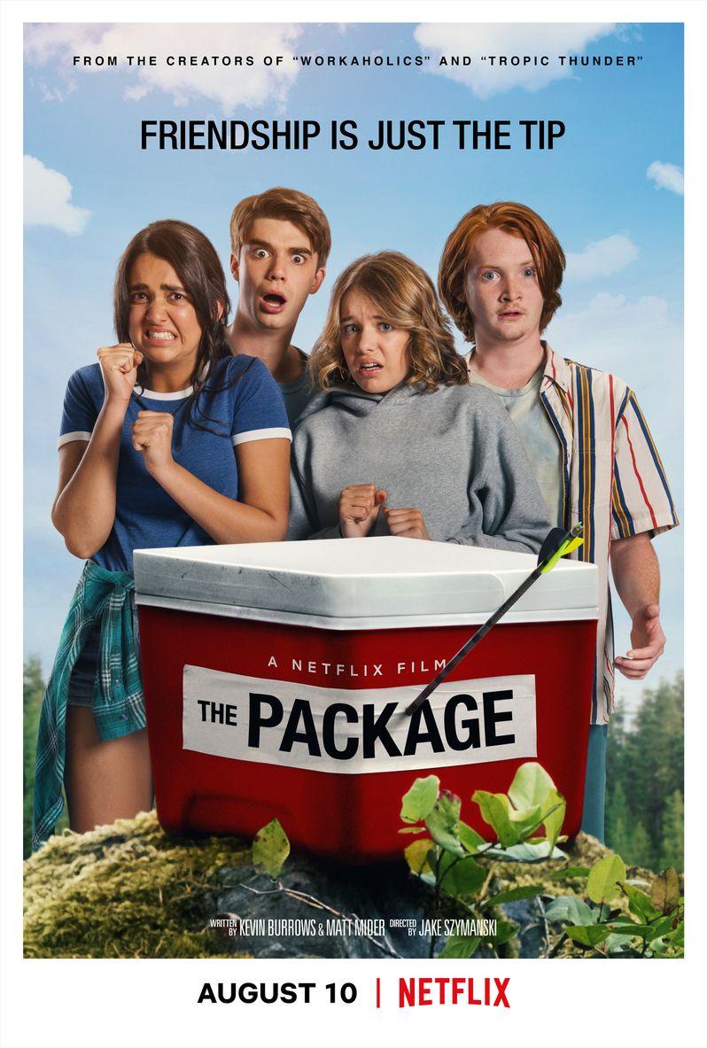 <strong><em>The Package</em></strong> poster Netflix original movie