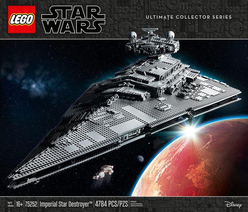 Star Wars Star Destroyer Lego Set Image #9
