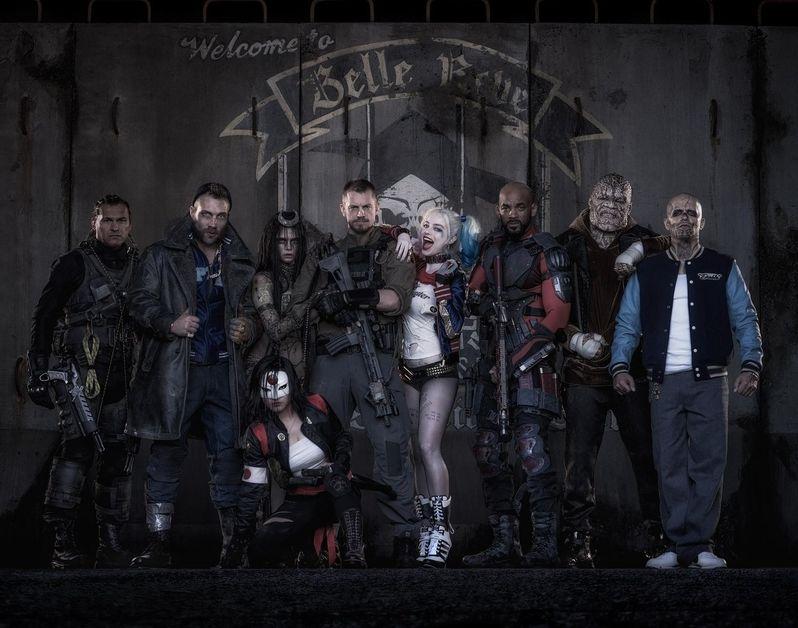 Suicide Cast Photo Costumes