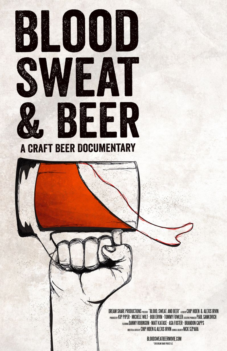 Blood Sweat and Beer Poster