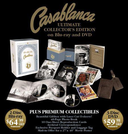 <strong><em>Casablanca</em></strong>: Ultimate Collectors Edition