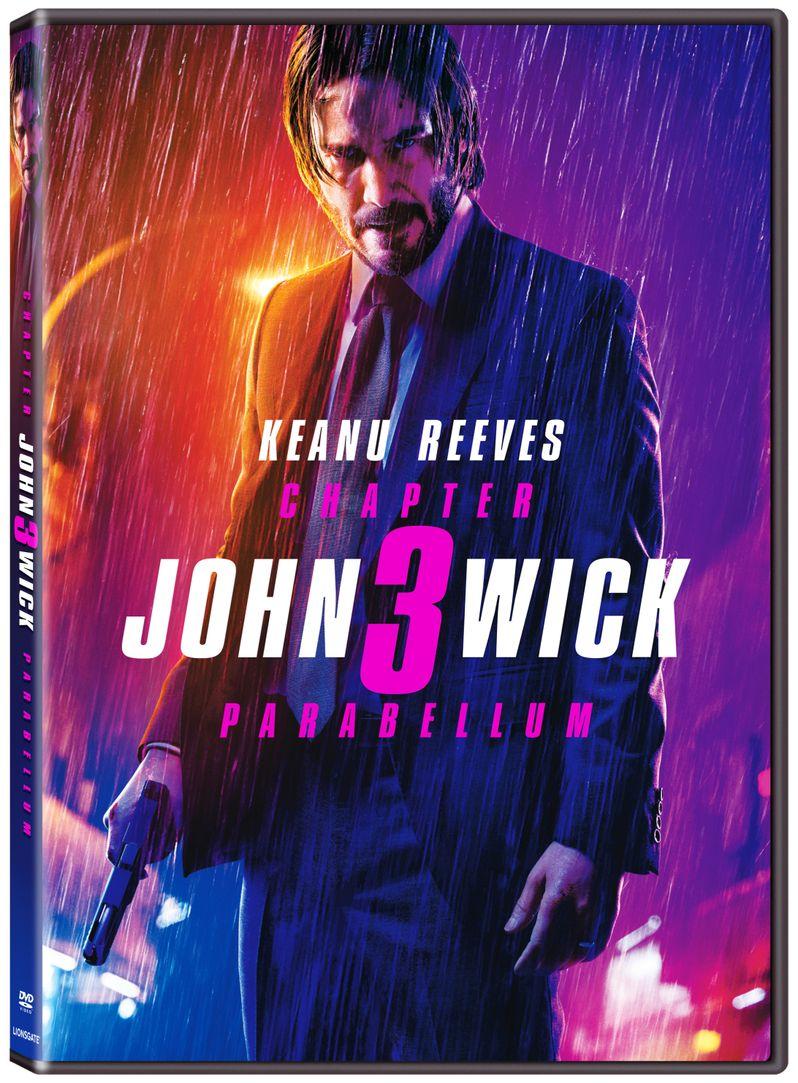John Wick 3 DVD