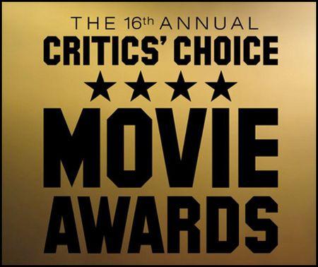 The 16th Annual Critics' Choice Movie Awards poster