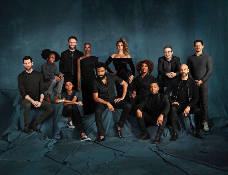 <strong><em>The Lion King</em></strong> 2019 cast portrait