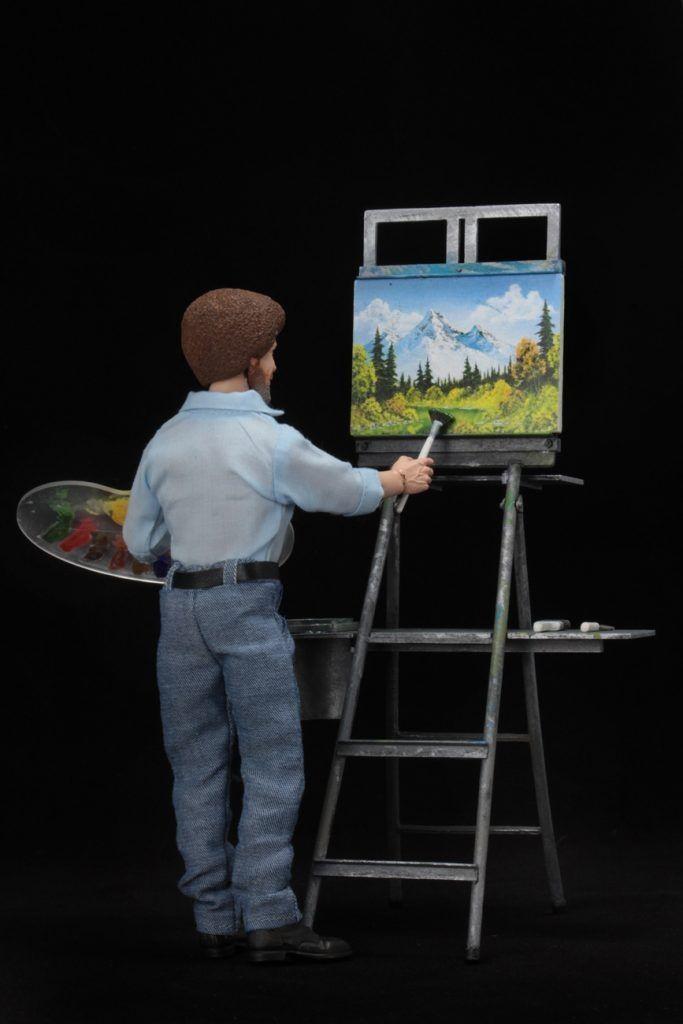 Bob Ross Neca Action Figure #3