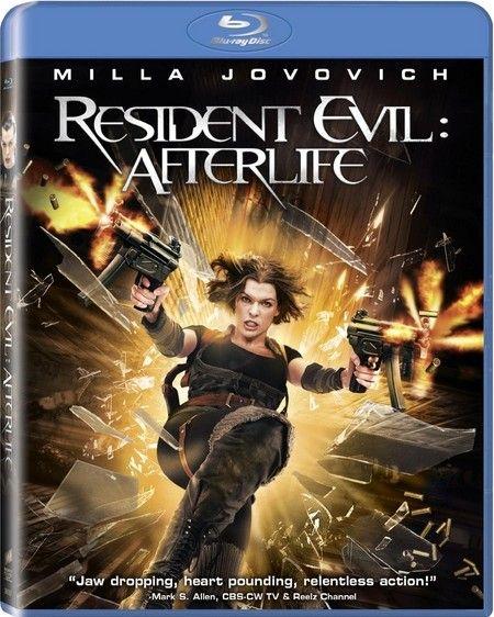 <strong><em>Resident Evil: Afterlife</em></strong> Blu-ray artwork