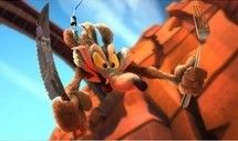 Wile E. Coyote in Coyote Falls, a 3-D short for movie theaters