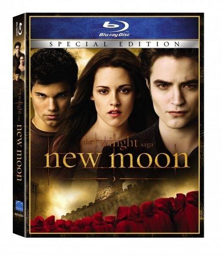 <strong><em>The Twilight Saga: New Moon</em></strong> Blu-ray