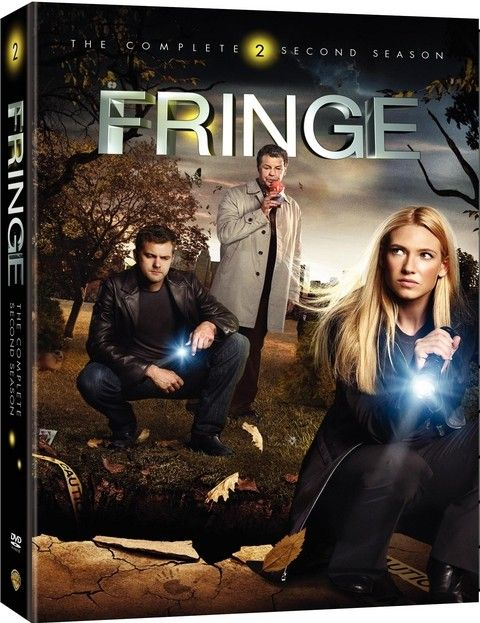 <strong><em>Fringe</em></strong>: The Complete Second Season DVD artwork