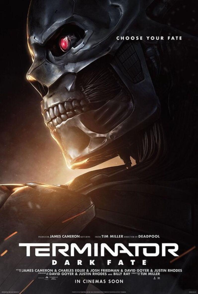 Terminator Dark Fate Character Poster