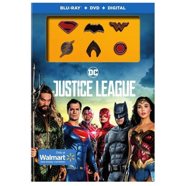 <strong><em>Justice League</em></strong> Blu-Ray Walmart