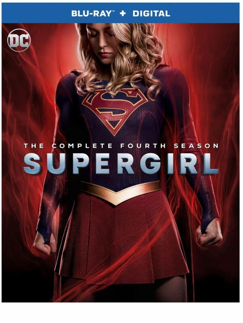 <strong><em>Supergirl</em></strong> Season 4 Blu-ray Cover art