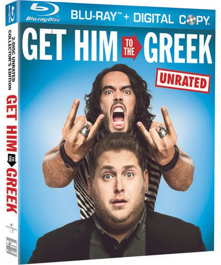 Get Him To The Greek Blu-ray cover