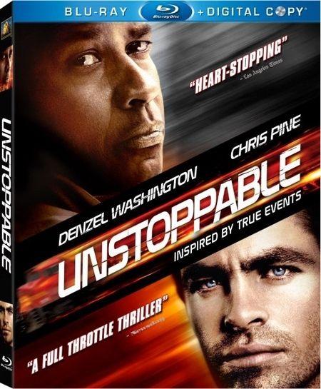 <strong><em>Unstoppable</em></strong> Blu-ray artwork