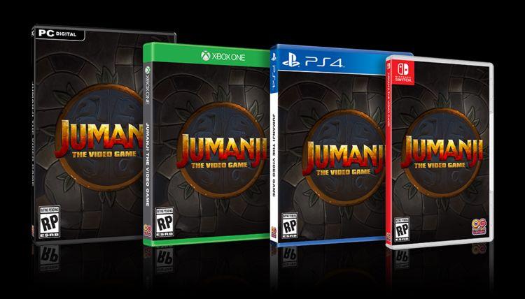 Jumanji Video Game editions
