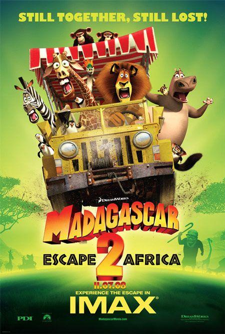 <strong><em>Madagascar: Escape 2 Africa</em></strong> IMAX Poster