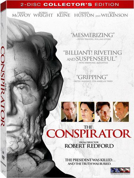 <strong><em>The Conspirator</em></strong> DVD artwork
