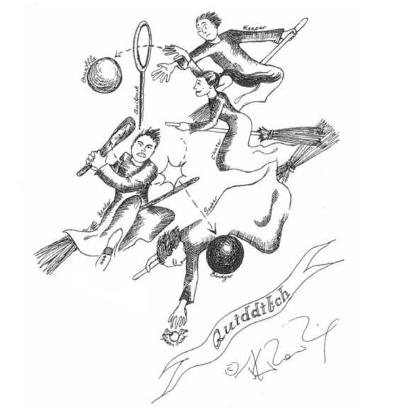Harry Potter Sketch 4