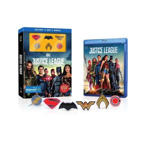 <strong><em>Justice League</em></strong> Blu-Ray Walmart 2