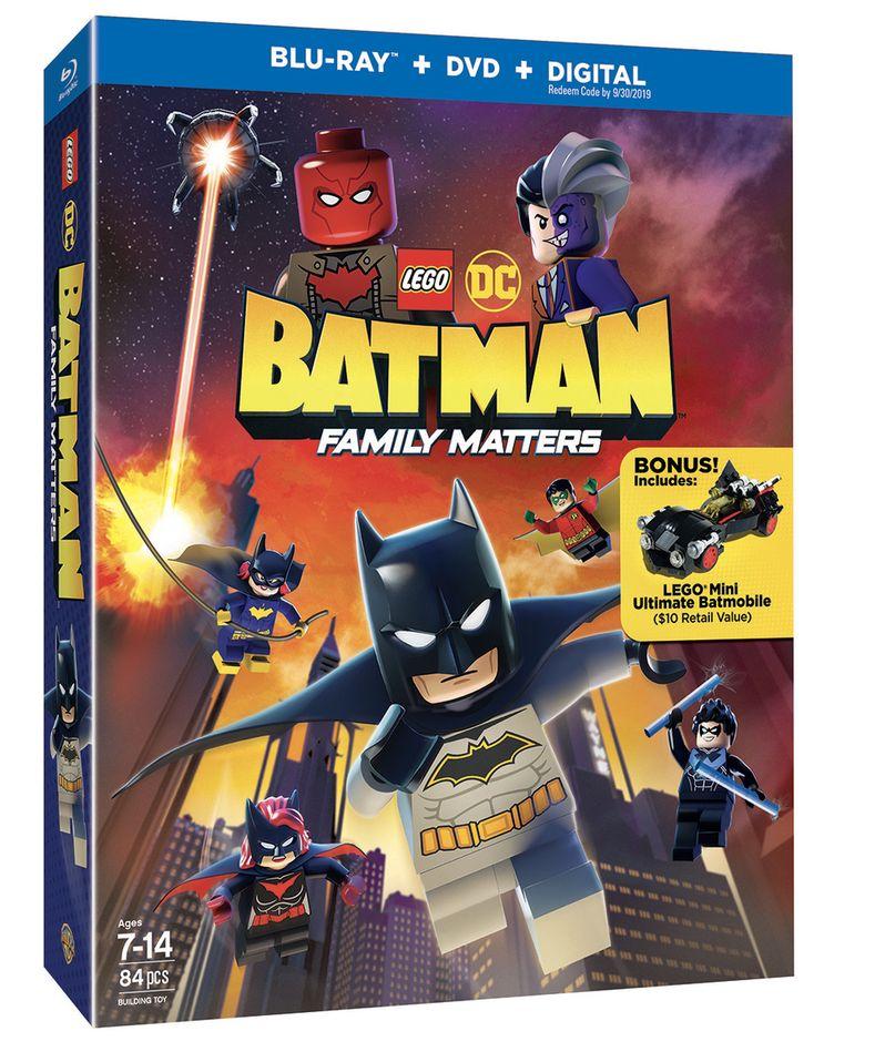 <strong><em>LEGO DC: Batman - Family Matters</em></strong> blu-ray cover art