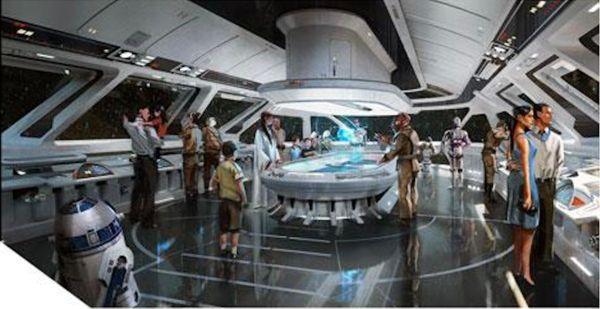 Star Wars Luxury Resort Concept Art 1