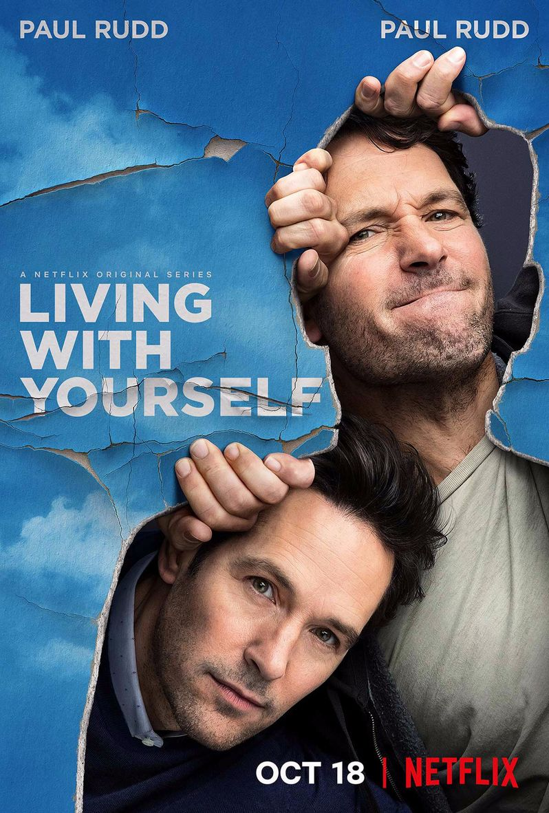 <strong><em>Living With Yourself</em></strong> poster