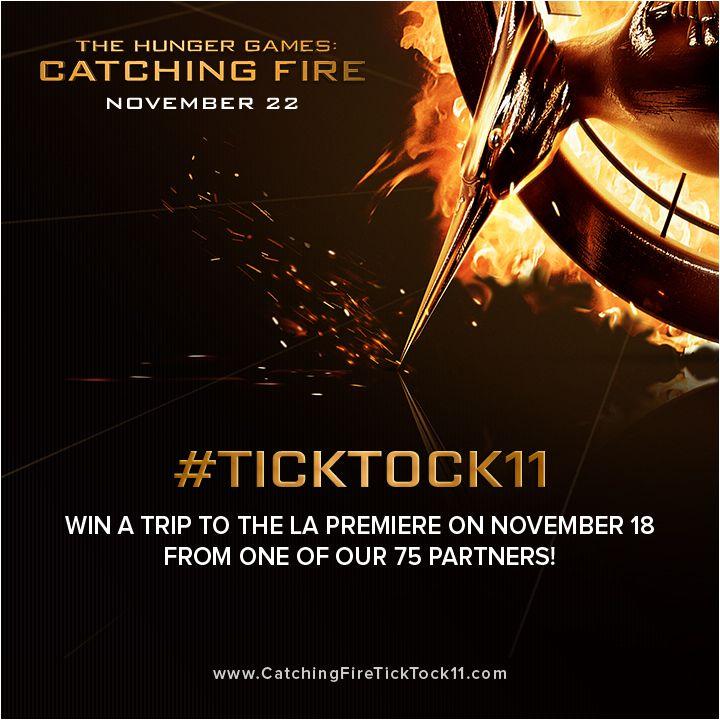 <strong><em>The Hunger Games: Catching Fire</em></strong> Tick Tock 11