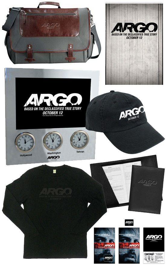 <strong><em>Argo</em></strong> Giveaway Items