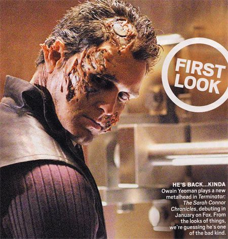 First Photo Sarah Connor Chronicles