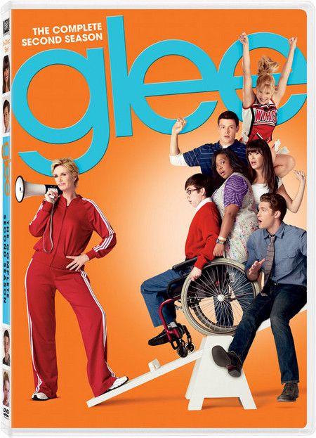 <strong><em>Glee</em></strong>: The Complete Second Season DVD artwork
